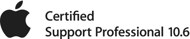 Apple Certified Support Professional 10.6 Logo